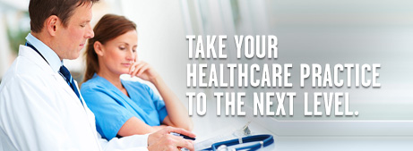 Take your healthcare practice to the next level.