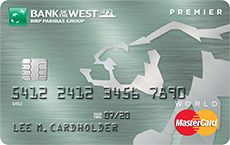 Bank of the West Premier Mastercard