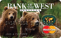 Bank of the West Platinum Mastercard